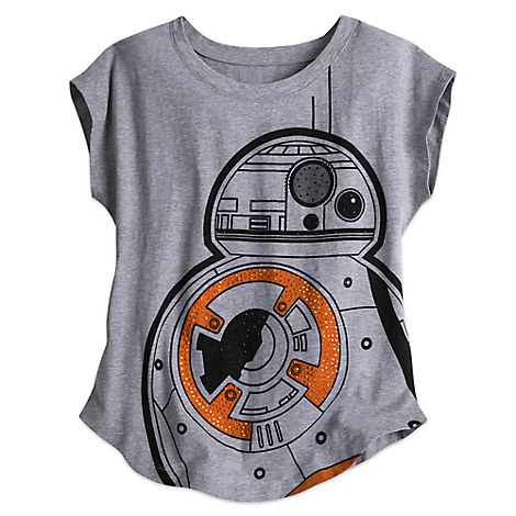 BB-8 Star Wars Bling Tee for Women