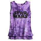 Star Wars Logo Tie-Dye Tank Tee for Women by Star Wars Boutique