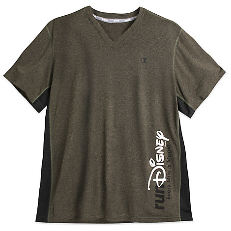 runDisney Side Stripe Performance Tee for Women by Champion®