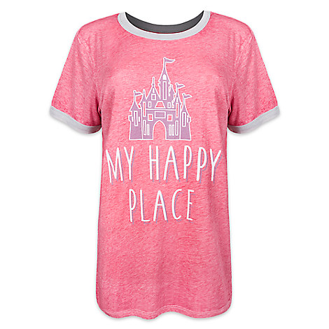 Fantasyland Castle Ringer Tee for Women by Disney Boutique