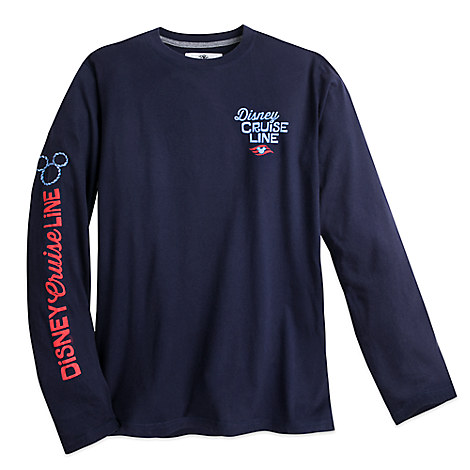 Mickey Mouse and Donald Duck Long Sleeve Tee for Men - Disney Cruise Line