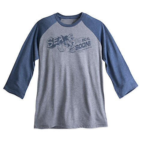 Mickey Mouse Baseball Tee for Adults - Disney Cruise Line