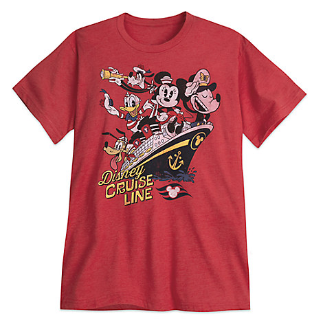 Mickey Mouse and Friends Tee for Adults - Disney Cruise Line