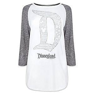 Mickey Mouse Raglan Long Sleeve Tee for Women by Disney Boutique - Disneyland