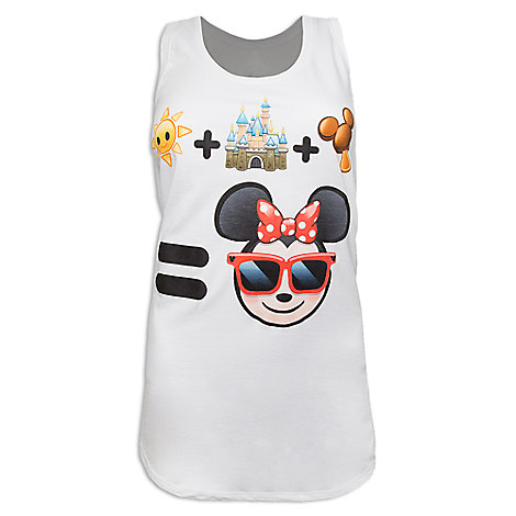 Minnie Mouse Emoji Tank Top for Women