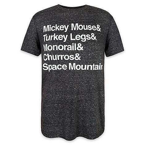 Disney Parks Text T-Shirt for Men