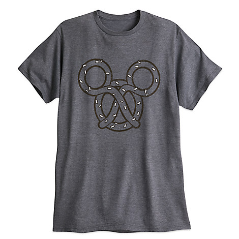 Mickey Mouse Pretzel Tee for Men
