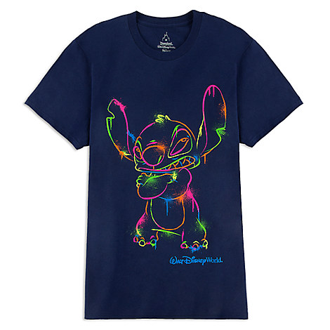 Stitch Walt Disney World Tee for Adults