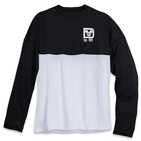 Walt Disney World Mesh Spirit Jersey for Men - Black and White