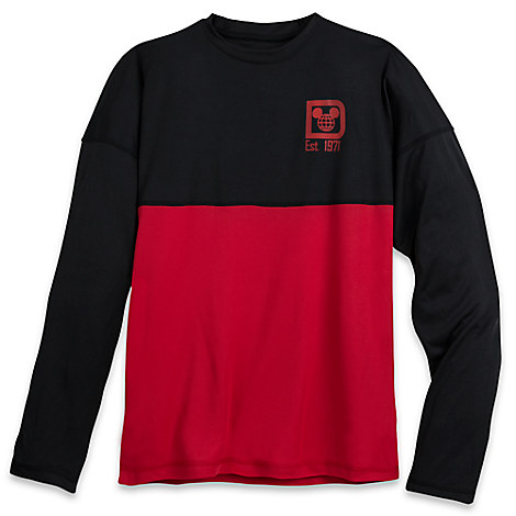 Walt Disney World Mesh Spirit Jersey for Men - Black and Red
