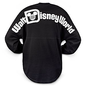Walt Disney World Long Sleeve Spirit T-Shirt for Women - Black