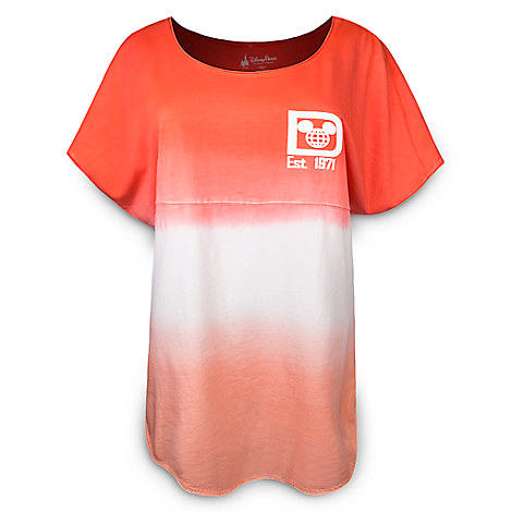 Walt Disney World Spirit Tee for Women - Coral