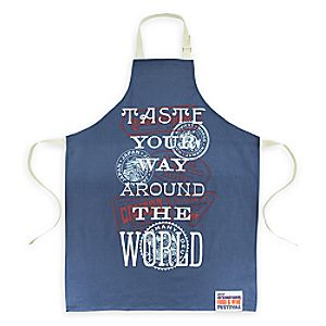 Epcot International Food & Wine Festival 2017 Apron for Adults