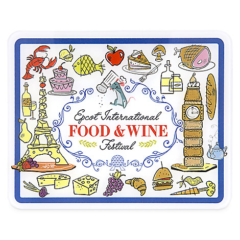 Remy Acrylic Magnet - Epcot International Food & Wine Festival