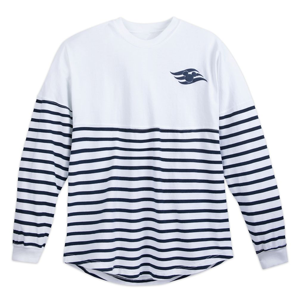 Disney Cruise Line Spirit Jersey for Adults  White/Navy