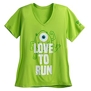 Mike Wazowski runDisney Performance T-Shirt for Women 7505057370765M