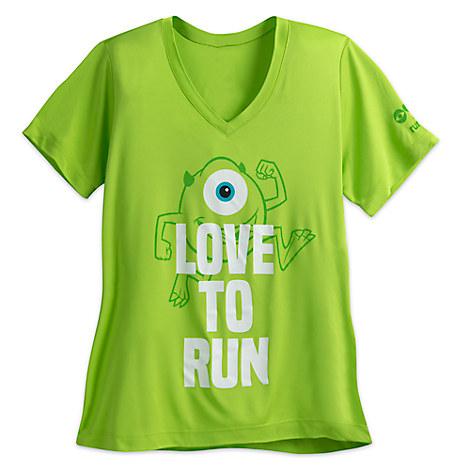 Mike Wazowski runDisney Performance T-Shirt for Women