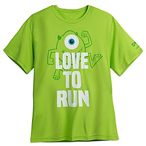 Mike Wazowski runDisney Performance T-Shirt for Men 7505057370767M