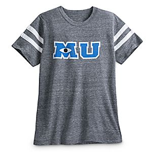 Monsters University Letterman Football T-Shirt for Men