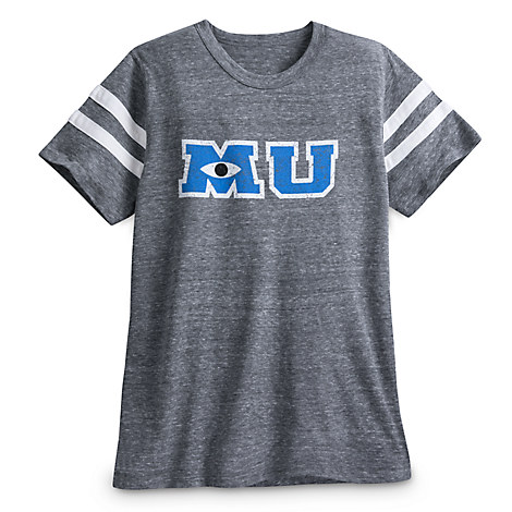 Monsters University Letterman Football T-Shirt for Men