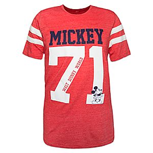 "Mickey Mouse ""71"" Jersey T-Shirt for Adults – Walt Disney World"