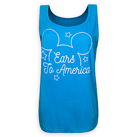 Mickey Mouse ''Ears to America'' Tank for Women
