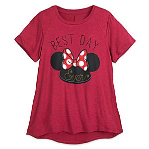 Minnie Mouse Ear Hat T-Shirt - Women