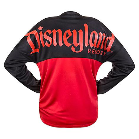 Disneyland Mesh Spirit Jersey for Men - Black and Red