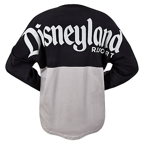 Disneyland Spirit Jersey for Men - Black and Gray