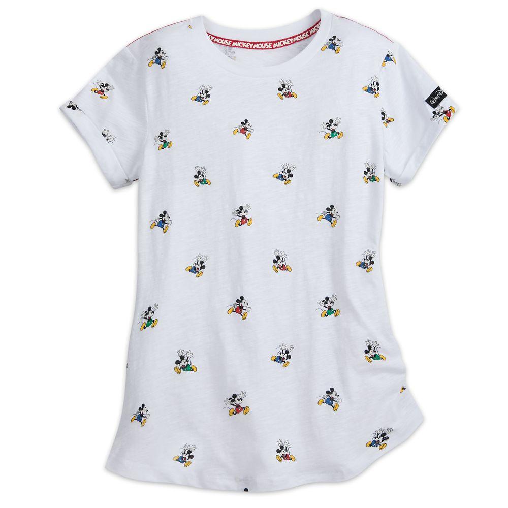 Walt Disney World Mickey Mouse Allover T-Shirt for Women