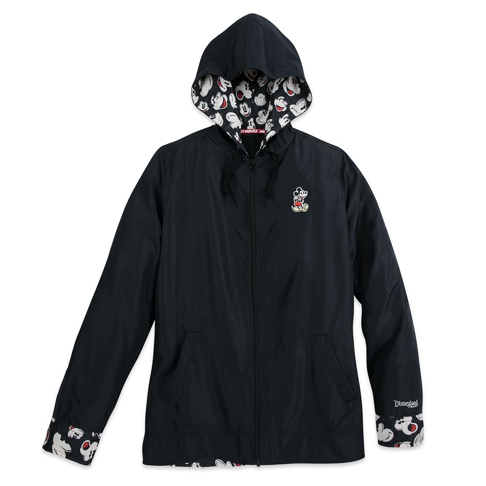 Mickey Mouse Windbreaker Jacket – Disneyland – Women