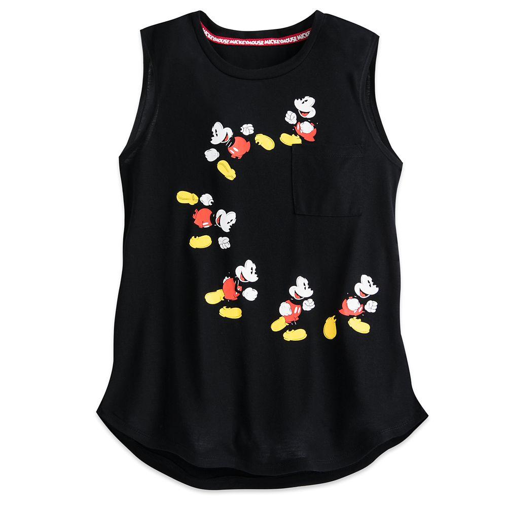 Mickey Mouse Pocket Tank Top – Disneyland – Women