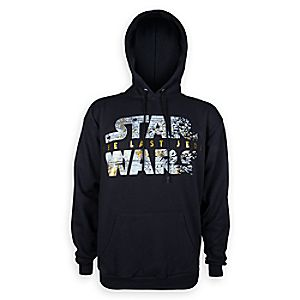 Star Wars: The Last Jedi Logo Hoodie for Men