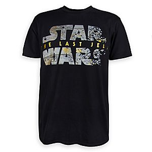 Star Wars: The Last Jedi Logo T-Shirt for Men