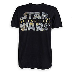 Star Wars: The Last Jedi Logo T-Shirt for Men