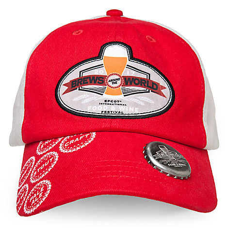 Brews Baseball Cap - Epcot International Food and Wine Festival