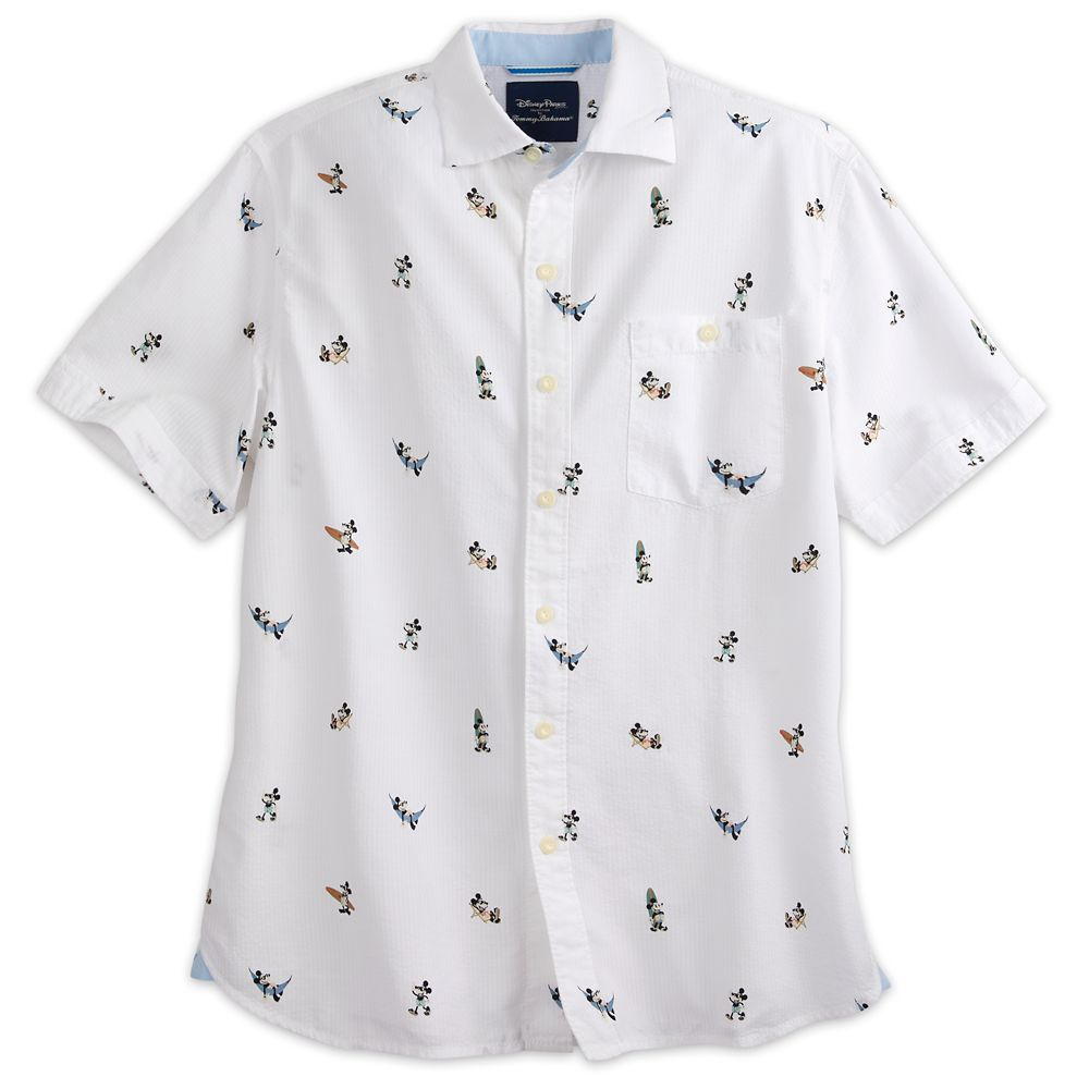 Mickey Mouse Button Shirt for Men by Tommy Bahama