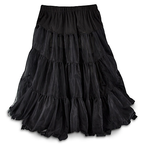 Black Crinoline Skirt