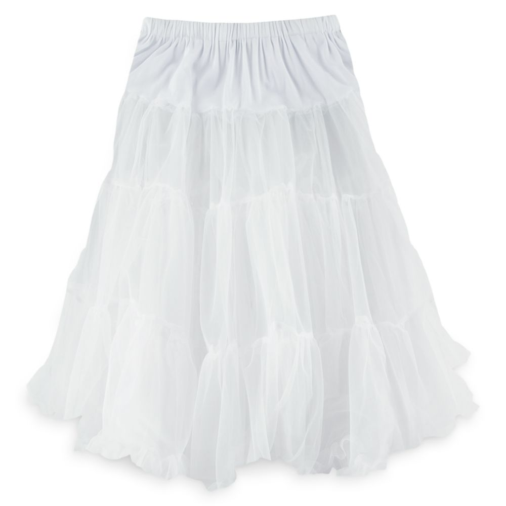 White Crinoline Skirt