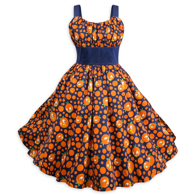 Orange Bird Dress for Women