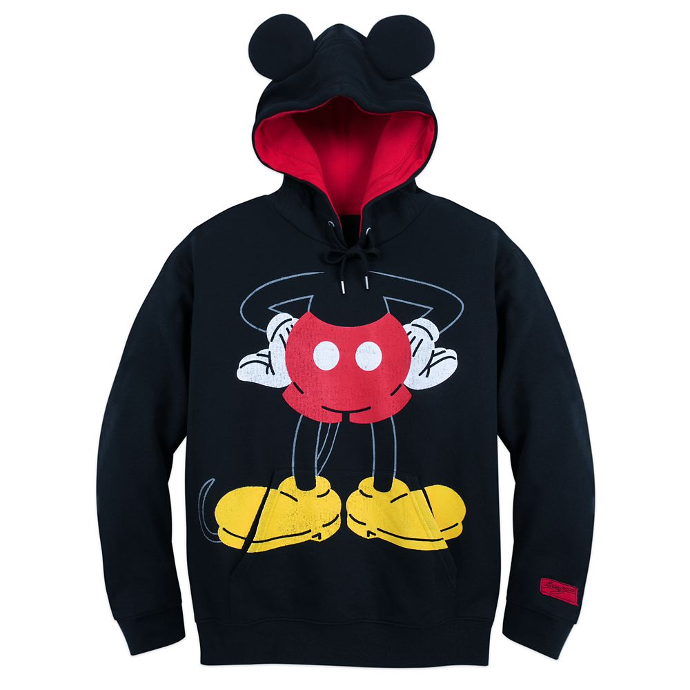 I Am Mickey Mouse Pullover Hoodie for Men