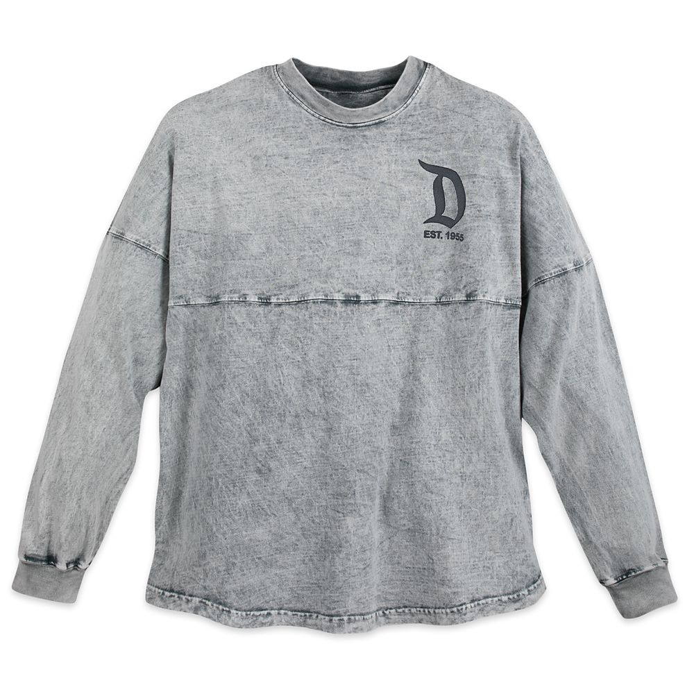 Disneyland Mineral Wash Spirit Jersey for Adults  Gray