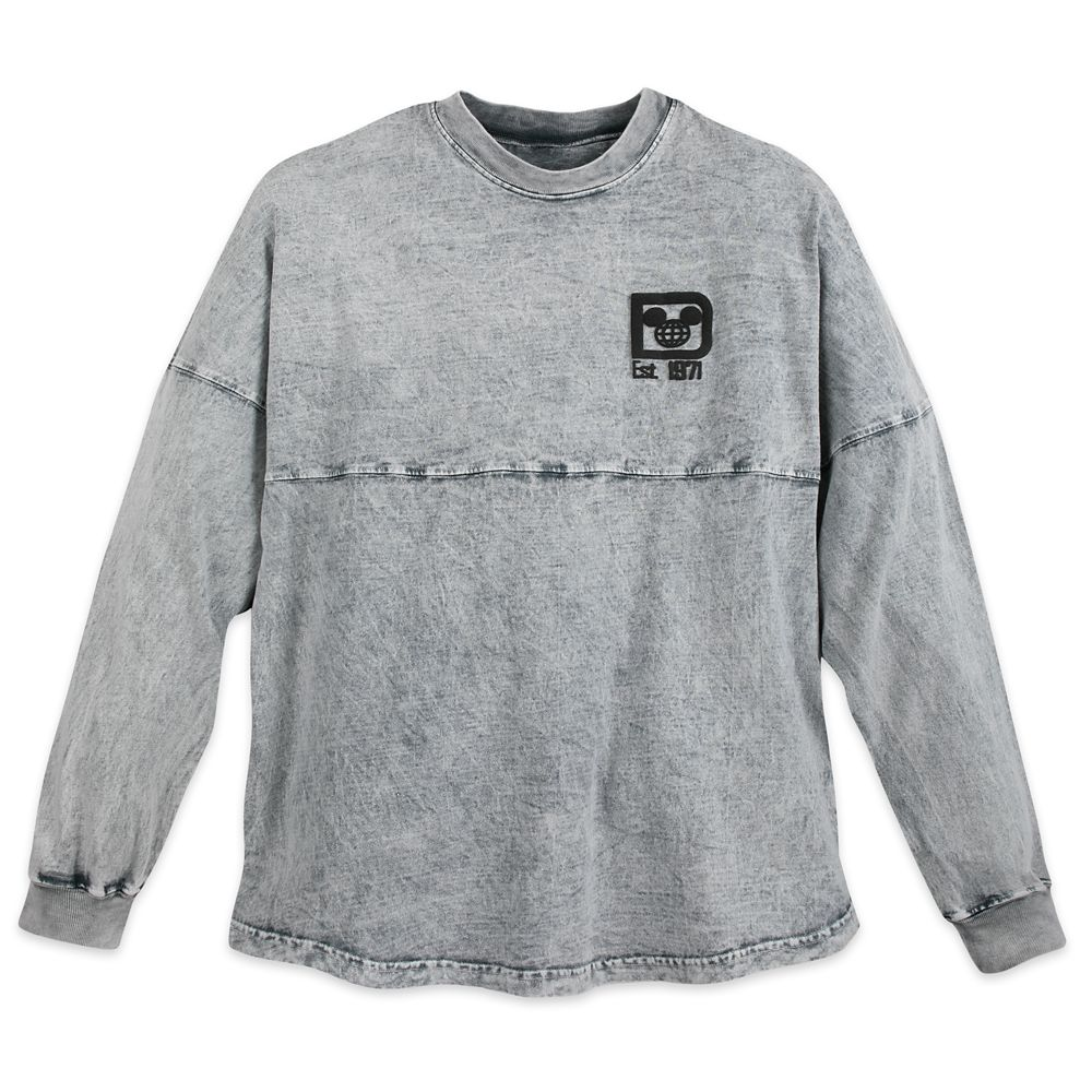 Walt Disney World Mineral Wash Spirit Jersey for Adults – Gray