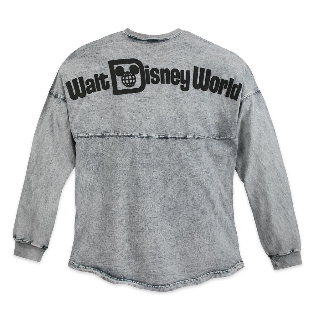 Walt Disney World Mineral Wash Spirit Jersey for Adults – Gray