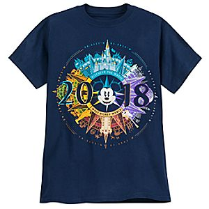 Mickey Mouse Compass T-Shirt for Adults - Walt Disney World 2018