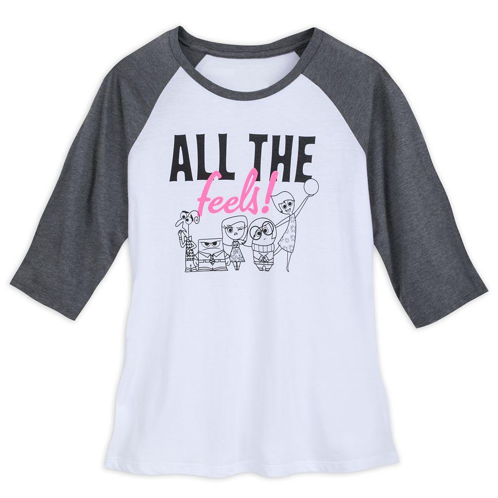 Inside Out Raglan T-Shirt for Women Official shopDisney