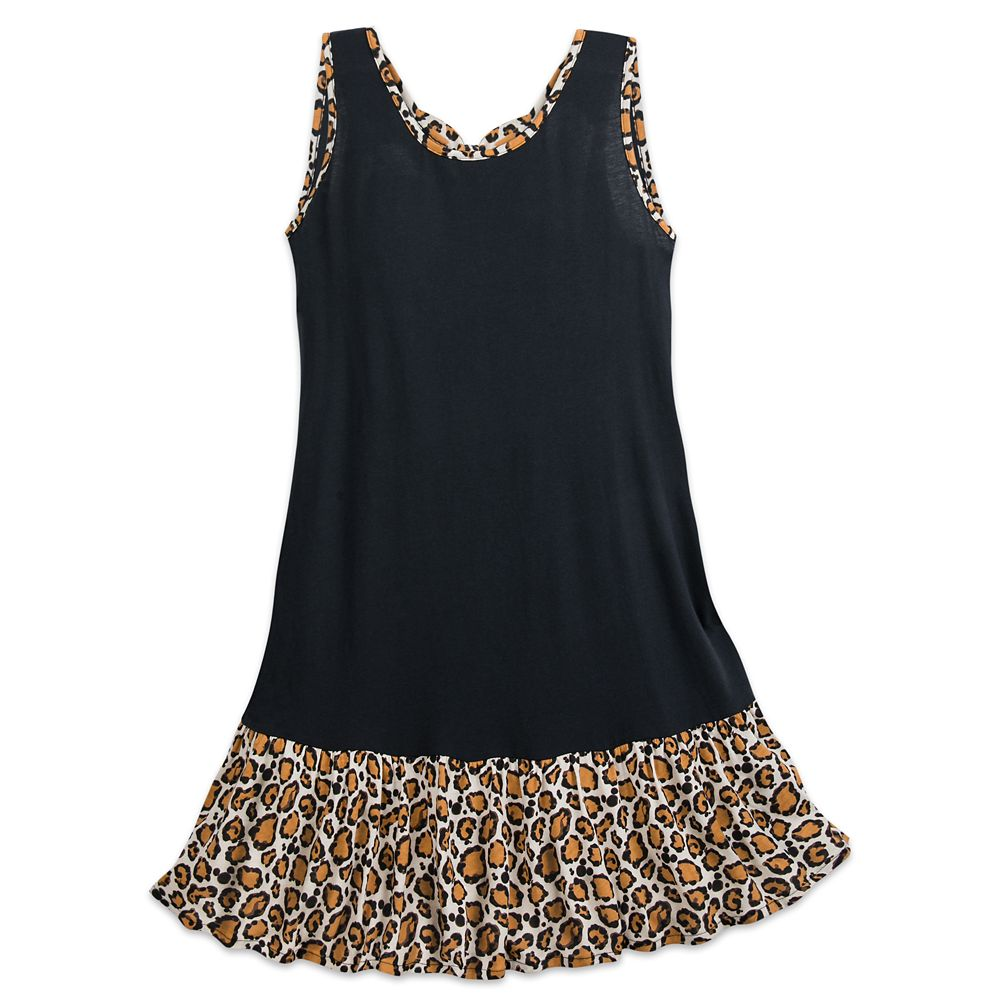 Mickey Mouse Animal Print Dress for Women