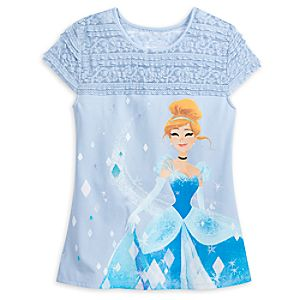 f3fa536d Cinderella Fashion Top with Lace for Women – Disney Princess Mystique  Price: $36.99