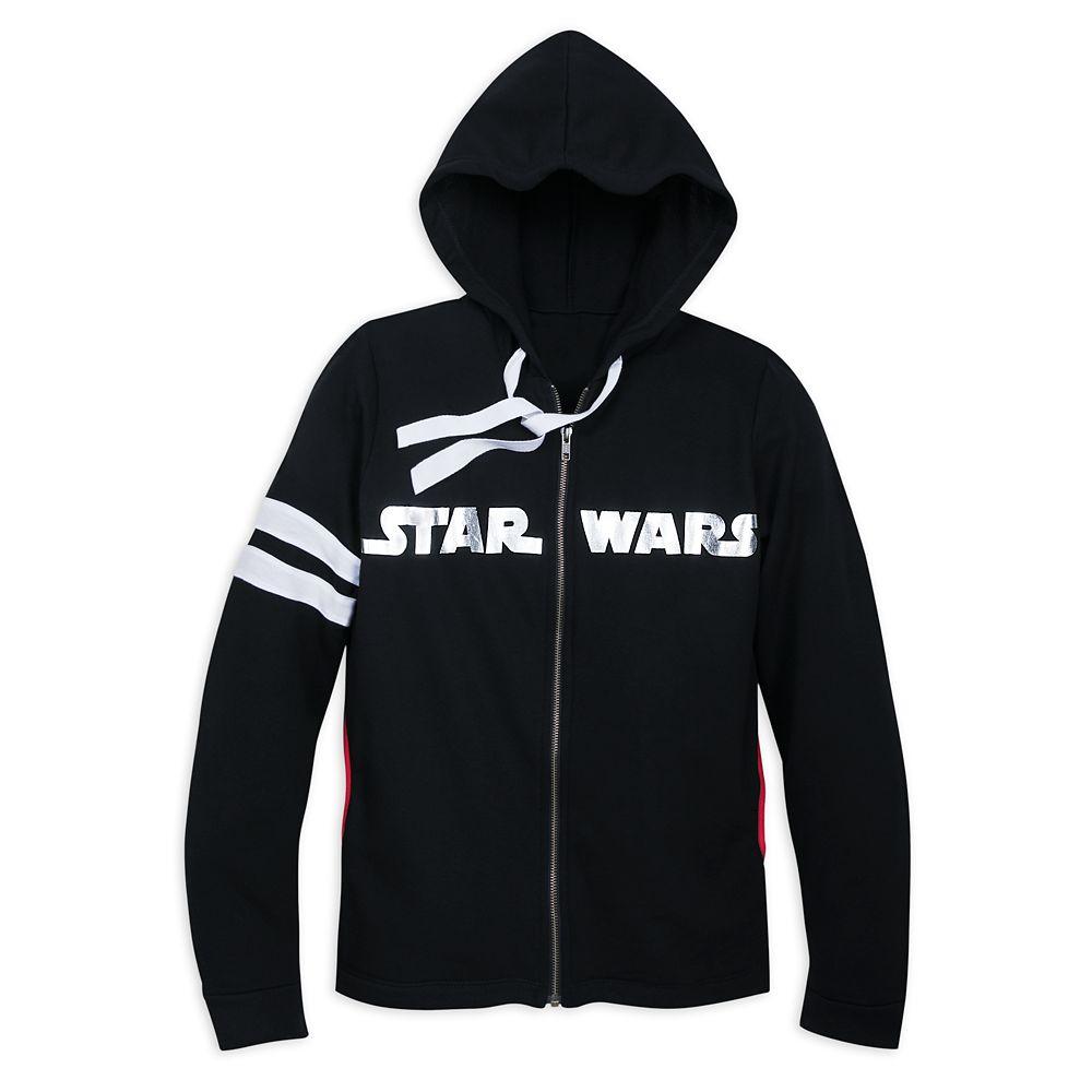 Star Wars Logo Zip Hoodie for Women Official shopDisney