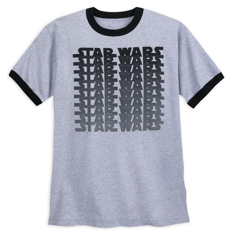 Star Wars Logo Ringer T-Shirt for Adults